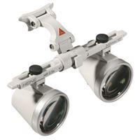Imagen de Lupas Binoculares Heine HR 2.5x/340mm con I-View (soporte de lupas girable) para Gafas en Maletín.