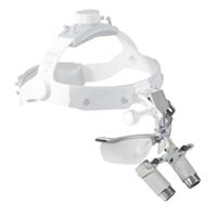 Imagen de Lupas Binoculares Heine HRP 4x/340mm con I-View (soporte de lupas girable) para Gafas en Maletín.